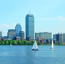 The boom in apartment complexes in Boston is having an effect on rental prices