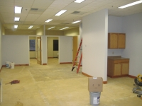 New Office Space Before