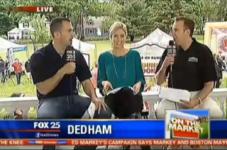 John and Anthony with Shannon Mulaire at Zip Trip Dedham