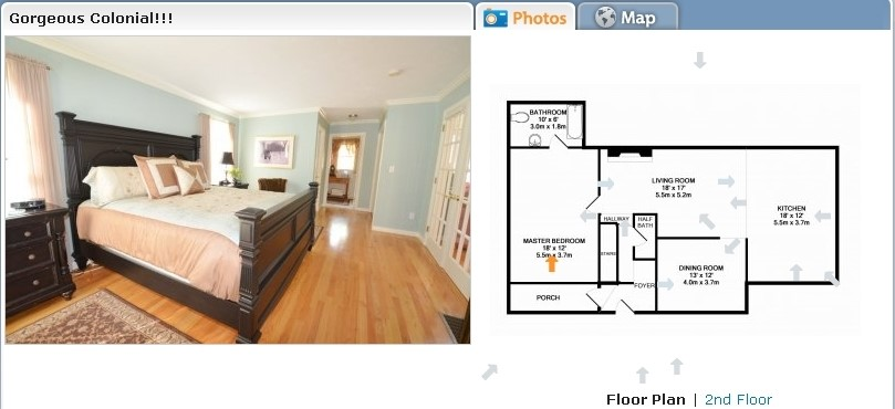 We take pictures of your listings and develop floor plans