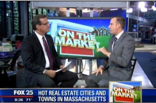 JJohn McGeough Talks to Fox 25 Morning News on the 25 Hottest Towns in Massachusetts