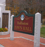 Holliston is located in Middlesex County