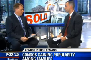 Watch Anthony on Fox 25 News on Why Demand for Condos is So Strong