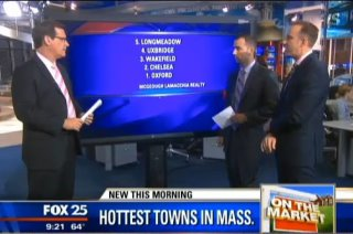 John and Anthony on Fox 25 News Reveal the Hottest Towns in MA