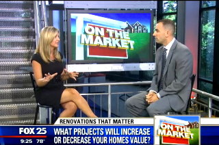 Anthony with Melissa Mahan of Fox 25 News
