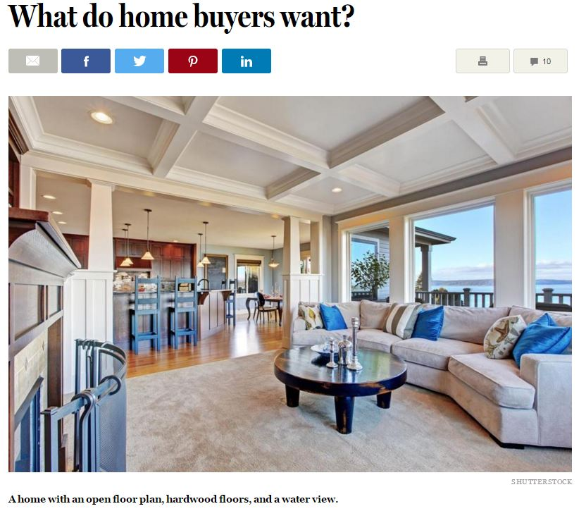 What do home buyers want
