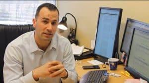 Screen shot of Banker Tradesman video