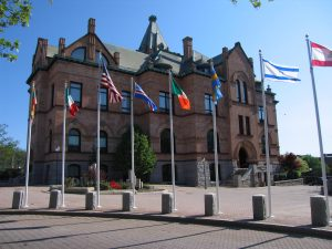 city-hall-with-flags