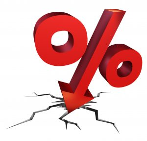 Interest Rates are down
