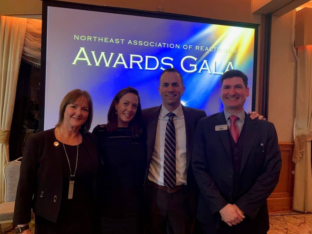 Angela Harkins, Chrissy O'Toole, Anthony Lamacchia, & Chris Dudzic at the NEAR Awards Gala