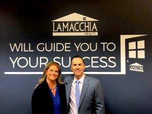 Paige Cadogan and Anthony Lamacchia
