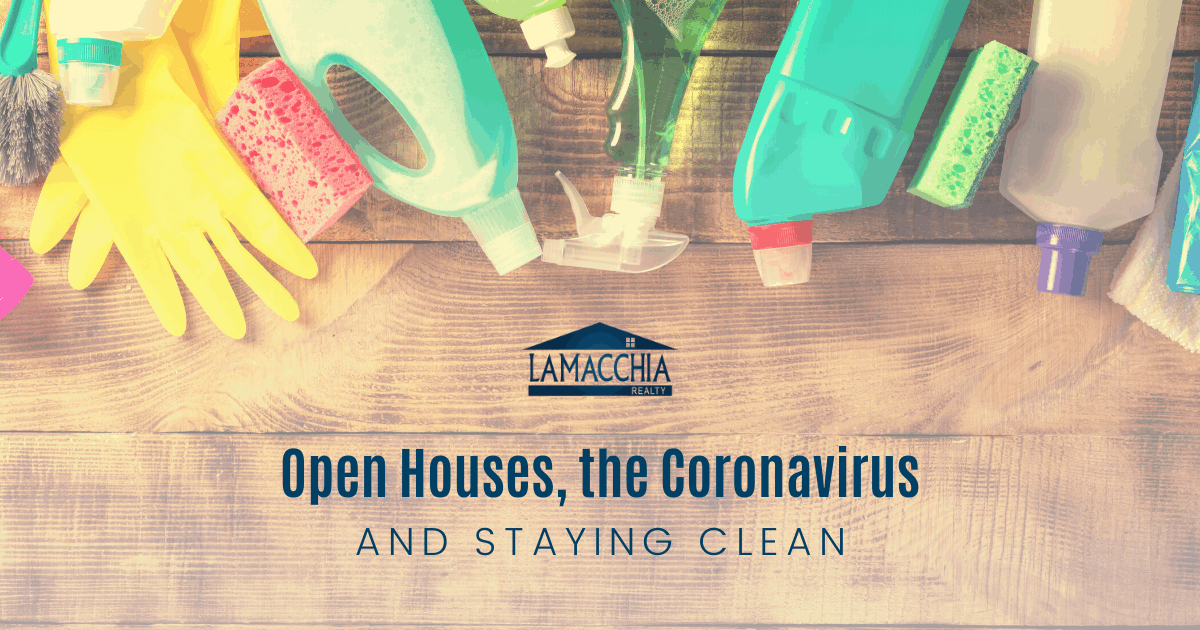 coronavirus and open houses