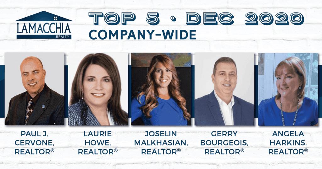 Top 5 Company wide
