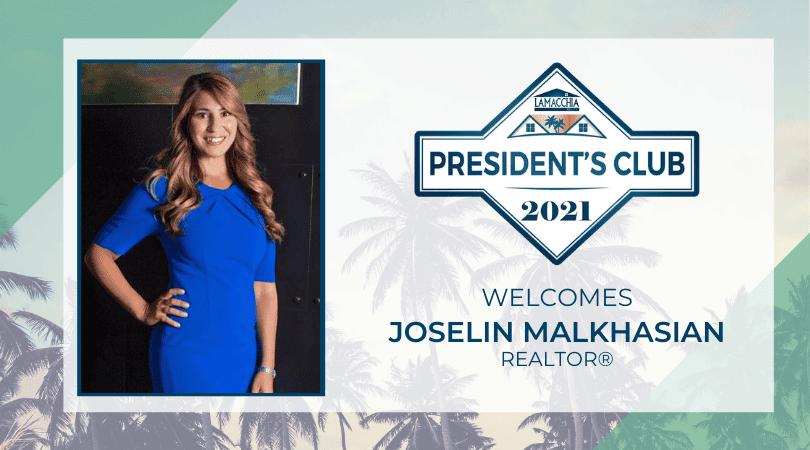 President's Club 2021 Joselin